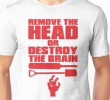 Remove the Head Unisex T-Shirt