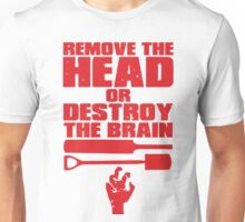 Remove the Head Unisex T-Shirt