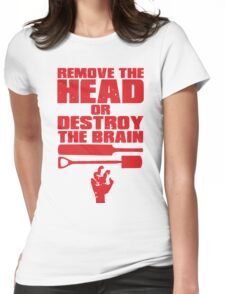 Remove the Head Womens Fitted T-Shirt