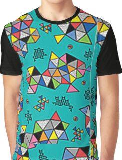 Polygon Graphic T-Shirt