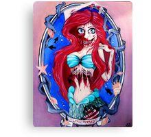 Ariel Zombie Canvas Print