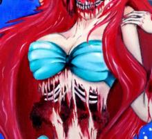 Ariel Zombie Sticker