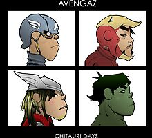 Avengaz by The  Staziac