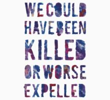 OR WORSE (painted) One Piece - Long Sleeve
