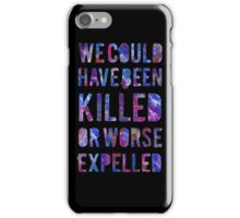 OR WORSE (painted) iPhone Case/Skin