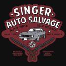 Singer Auto Salvage by Arinesart