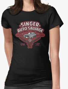 Singer Auto Salvage Womens Fitted T-Shirt