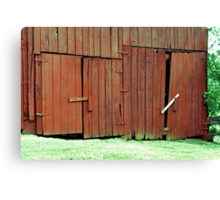 Protected by BUBBA SECURITY SYSTEMS Canvas Print