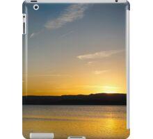 The Sun is Setting on the lake at Primbee iPad Case/Skin
