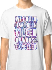 OR WORSE (outline - painted) Classic T-Shirt