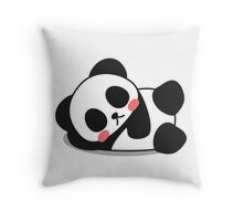 Sexy Panda Throw Pillow