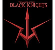 The Order of the Black Knights Photographic Print