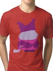 'Chowder' simple vector Tri-blend T-Shirt