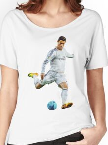 cristiano ronaldo Women's Relaxed Fit T-Shirt