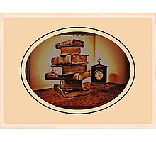 """... On a Stack of Bibles""... prints and products Photographic Print"