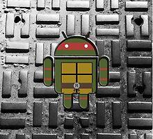 TMNT Droid Raphael by LumpyHippo