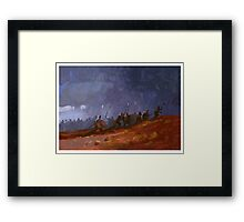 Viking raiders Framed Print