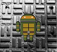 TMNT Droid Michael Angelo by LumpyHippo