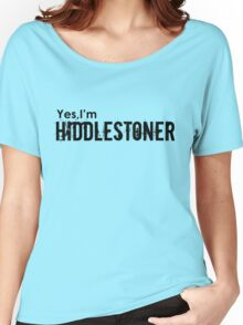 Yes,I'm HIDDLESTONER Women's Relaxed Fit T-Shirt