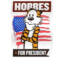 CALVIN AND HOBES Poster