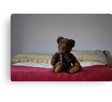 """Teddy"" Canvas Print"