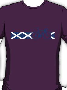Bike Stripes Scotland T-Shirt