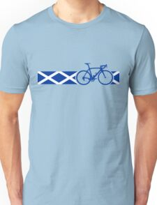 Bike Stripes Scotland Unisex T-Shirt