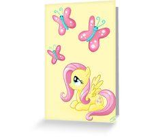 Fluttershy - Cutie mark Greeting Card