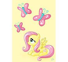 Fluttershy - Cutie mark Photographic Print
