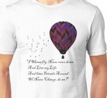 We Never Change Lyrics-  Coldplay Unisex T-Shirt