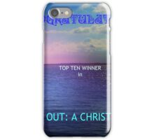 Reaching Out: Top Ten Banner iPhone Case/Skin