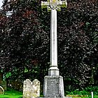 War Memorial in St George's Churchyard, Arreton by Rod Johnson