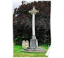 War Memorial in St George's Churchyard, Arreton Poster