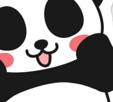 Lovely Panda Sticker Sticker