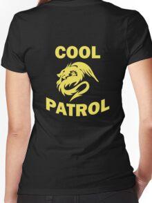Cool Patrol Logo Women's Fitted V-Neck T-Shirt