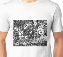 Trendy Doodle ft. Drake, Marilyn, nyc, skulls...  Unisex T-Shirt
