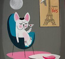 French Bulldog At Home by elgatogomez
