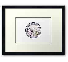 You're Beautiful as You Are Framed Print