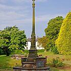 War Memorial in St Mary's Churchyard Tutbury by Rod Johnson