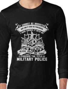 Military Mom t-shirt Long Sleeve T-Shirt