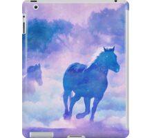 Horses run iPad Case/Skin