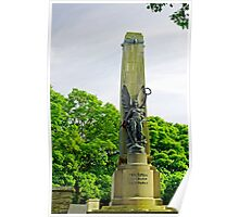 War Memorial, Buxton Poster