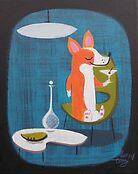Corgi At Home by elgatogomez