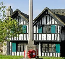 War Memorial and Rectory Mansion, Brading by Rod Johnson