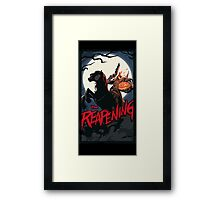 The Reapening - Reaper - Overwatch Framed Print