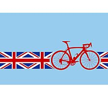 Bike Stripes Union Jack Photographic Print