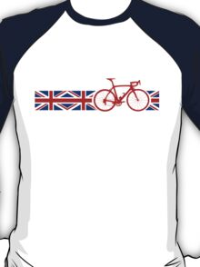 Bike Stripes Union Jack T-Shirt