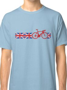Bike Stripes Union Jack Classic T-Shirt