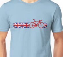 Bike Stripes Union Jack Unisex T-Shirt