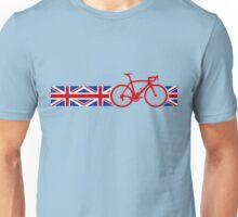 Bike Stripes Union Jack Unisex T-Shirt